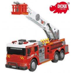 Dickie Straż Pożarna Pojazd Wóz Strażacki Fire Brigade Akcesoria Światło Dźwięk