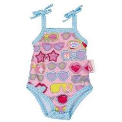 BABY BORN jednoczęściowy strój kąpielowy Niebieski