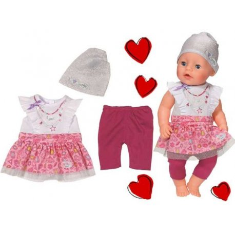 Baby Born Ubranko Miejski Styl dla lalki 43 cm