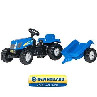 New Holland Traktor na pedały z przyczepką Rolly Toys rollyKid