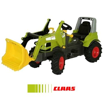 Rolly Toys rollyFarmTrac Premium Traktor na pedały CLAAS Arion 640 z łyżką
