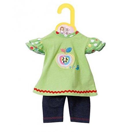 Zapf Creation Dolly Moda - Sukienka z legginsami dla lalki