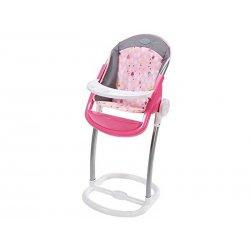BABY born - Wysokie krzesełko do karmienia dla lalki 43 cm