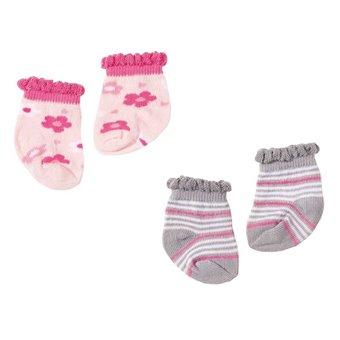 Baby Annabell Skarpetki 2 pary Zestaw A dla lalki