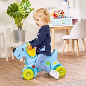 Gotowi na przejażdżkę? Jeździk buddy w kształcie wesołego pieska to pojazd wręcz idealny dla każdego maluszka, który zaczyna swoją przygodę z pojazdami oraz motoryzacją. Dzięki niemu dziecko może rozpocząć swoją przygodę z nauką wsiadania na pojazdy, odpychania się od podłoża oraz kierowania. Jeździk będzie jego pierwszym krokiem w stronę samodzielności, usprawni nóżki dziecka oraz polepszy jego zmysł równowagi. Zabawka jest wykonana w bardzo staranny sposób, zapewni dziecku stabilność za pomocą szerokiego rozstawu kół.😍#jeździk #jezdzik #koordynacja #pojazd #pies #piesek #równowaga #przejażdżka #nauka #wsiadanie #zsiadanie #kierowanie #stabilność #odpychanie #jazda